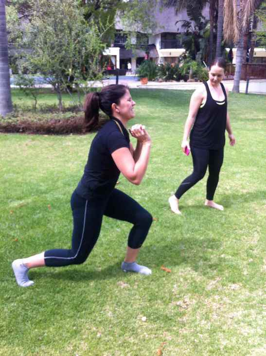 The SO Fit Club: TACFIT walking lunge